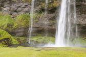 Seljalandsfoss waterfall - Iceland. — Stock Photo