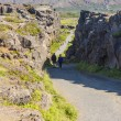 Thingvellir valley  - Iceland. - Stock Photo
