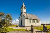 Pingvallkirkja church - Iceland — Stock Photo