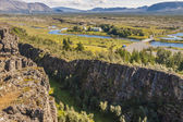 Thingvellir valley - Iceland. — Stock Photo
