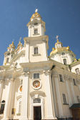 Front of main church in Pochaiv Monastery - Ukraone. — Stock Photo