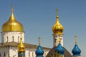 Towers of Pochaiv Monastery - Ukraine — Stock Photo
