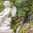 Angel figure in Sofiyivsky park - Uman, Ukraine. — Stock Photo #22005103