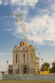Orthodoxy church under construction - Uman, Ukraine. — Stock Photo
