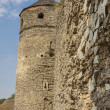Tower and wall of castle in Kamianets Podilskyi, Ukraine, Europ — Foto de Stock