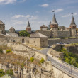 Foto de Stock  : Castle in Kamianets Podilskyi, Ukraine, Europe.