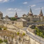 hrad v Evropě kamianets podilskyi, Ukrajina, — Stock fotografie