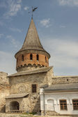 Tower of castle in Kamianets Podilskyi, Ukraine, Europe. — Stock Photo
