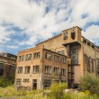 Stock Photo: Abandon building of old paperworks - Kalety, Poland.