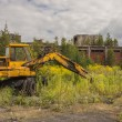 Old abandoned digger  - Kalety, Poland, Europe. — Stock Photo