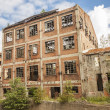Stock Photo: Old abandoned building - Kalety, Poland, Europe.