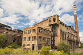 Abandon building of old paperworks - Kalety, Poland. — Stock Photo