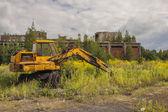 Oude verlaten digger - kalety, Polen, Europa. — Stockfoto