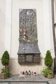 Disastro aereo di monumento di smolensk - santuario di czestochowa, polan — Foto Stock