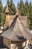 Exterior of Mother of God Tatras Queen Sanctuary - Poland. — Stockfoto