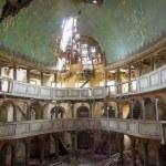 intérieur de la vieille église évangélique - zeliszow, Pologne — Photo