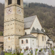 Church of St. John in Mustair, UNESCO World Cultural Heritage, S — Stock Photo