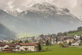 Mustair village in Switzerland, Europe. — Stock Photo