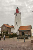 Lighthouse in Urk town - Netherlands. — Stock Photo