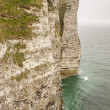Etretat, France Cote d'Albatre (Alabaster Coast) is part of the — Stock Photo