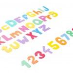 Full colourfull alphabet - paper work. — Stock Photo #35364649