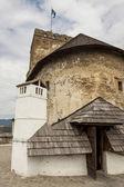 Castello di Niedzica - Polonia. — Foto Stock