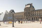 Louvre Paris — Stock Photo