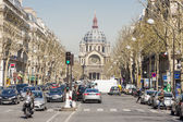 View on Saint - Augustin Church. Paris, France. — Stock Photo