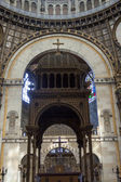 Interior of Saint - Augustin Church. Paris, France. — Stock Photo
