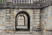 Detail of Royal hunting castle  in Fontainebleau, France. — Foto de Stock