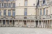 Detail der königlichen jagdschloss in fontainebleau, frankreich. — Stockfoto