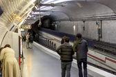 Paris Metro station Mirabeau — Stock Photo