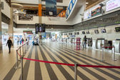 Interior of Katowice International Airport - Pyrzowice, Poland. — Stock Photo