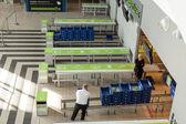 Interior of Katowice International Airport - Pyrzowice, Poland. — Stock Photo