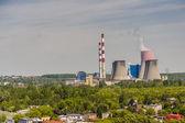 Central termoeléctrica - lagisza, polonia, europa. — Foto de Stock
