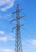 Słup elektryczny — Zdjęcie stockowe