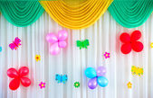 Festive curtain — Stock Photo
