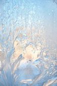 Ice natural background — Stock Photo