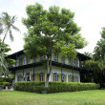 Earnest Hemingway Home in Key West Flroida — Stock Photo