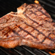 T-Bone Steak on the Grill - Photo