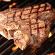 T-Bone Steak on the Grill — Stock Photo #12034894