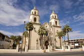 St. Augustine Cathedarl in Tucson Arizona — Stock Photo