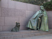 FDR Monument in Washington DC — Stock Photo