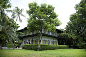 Earnest Hemingway Home in Key West Flroida — Foto Stock