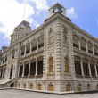 Iolani Palace in Honolulu - Stock Photo