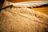 Declaration of Independance — Stock Photo