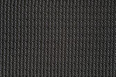 Macro of black canvas for backround or texture — Stock Photo