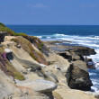 Coastal bluff view — Stock Photo