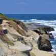 Stock Photo: Coastal bluff view