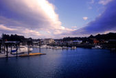 Bandon Harbor — Stock Photo